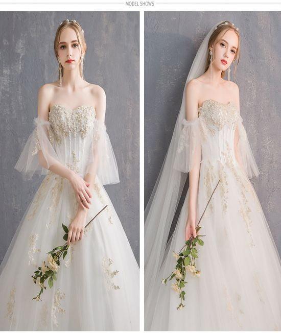 Top 20 mẫu áo cưới đẹp nhất năm 2020 tại aocuoicodau.com