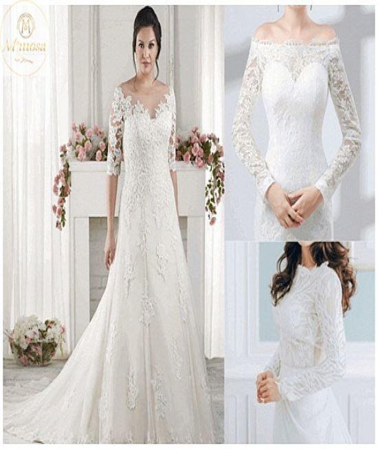 Tip hiệu quả cho cô dâu béo mua áo cưới